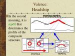valence headship14