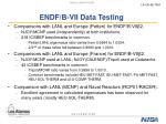 endf b vii data testing12