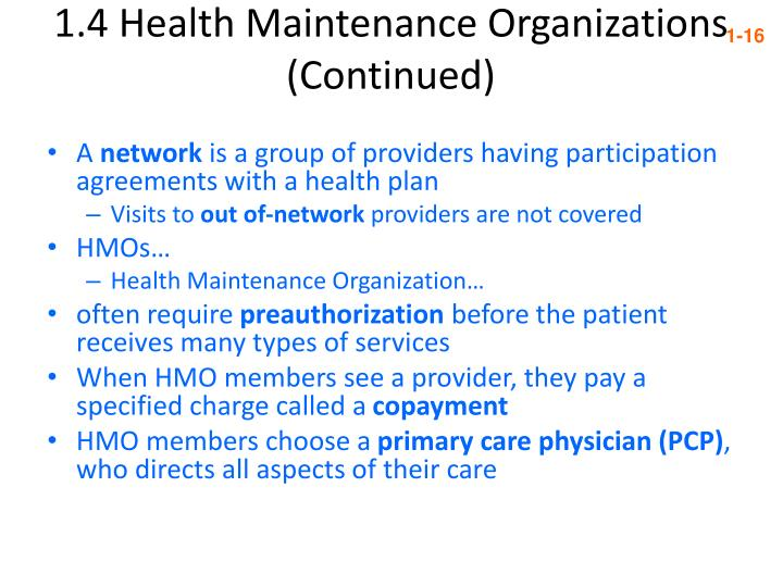 should us patients choose hmo as their health care provider