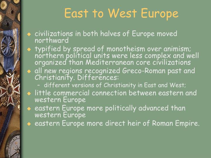 East to West Europe