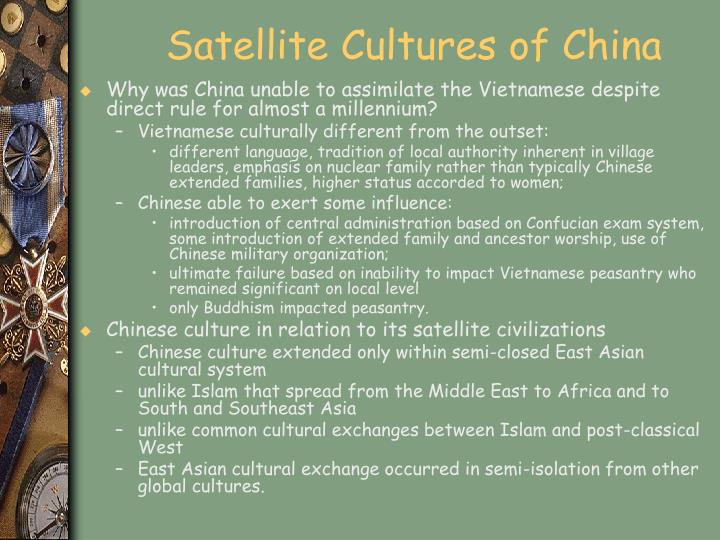 Satellite Cultures of China