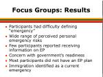 focus groups results1