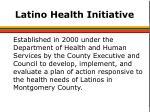 latino health initiative