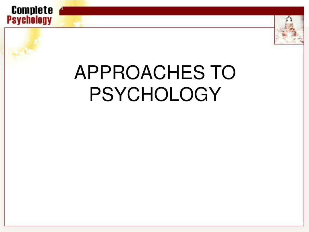 Aqa (2015) approaches in psychology revision ppt. Paper 2 by.