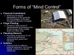 forms of mind control5