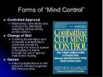 forms of mind control6