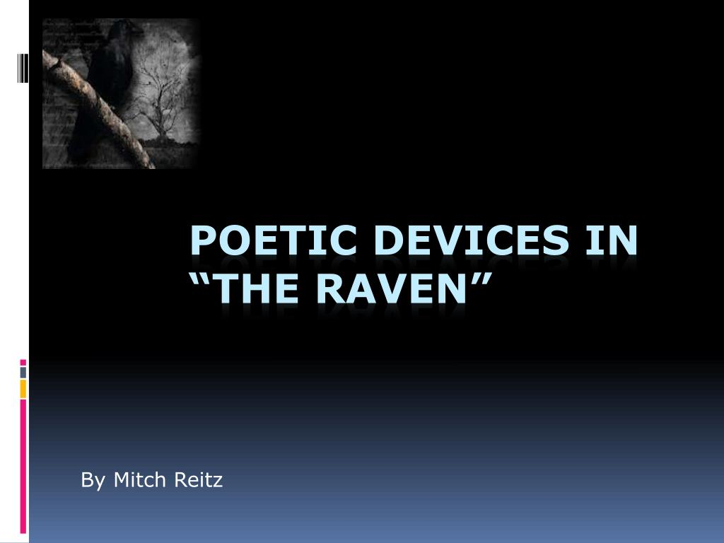 literary analysis of the raven by edgar allan poe