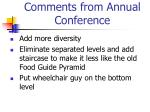 comments from annual conference