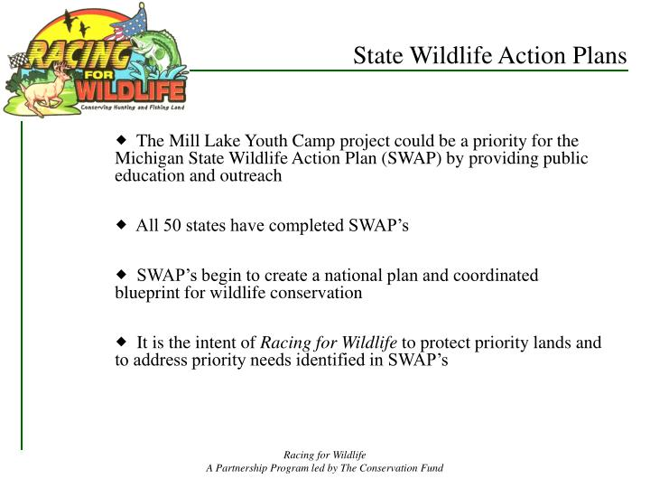 State Wildlife Action Plans