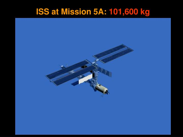 ISS at Mission 5A: