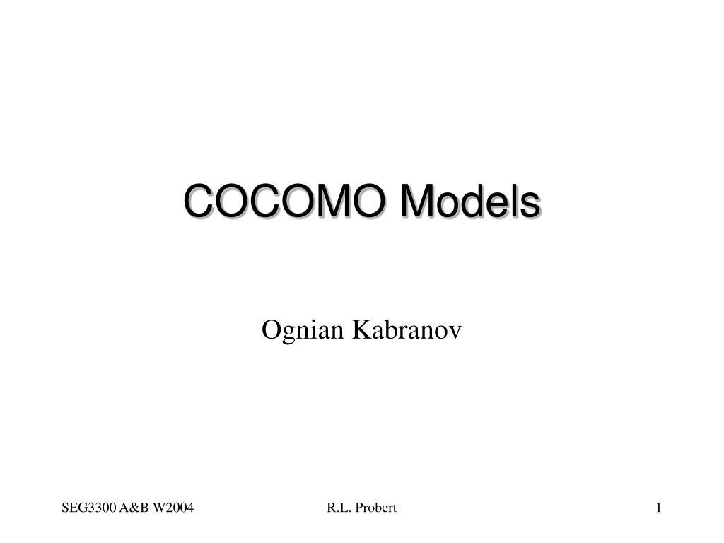 cocomo models l.