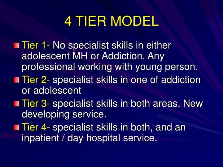 4 TIER MODEL