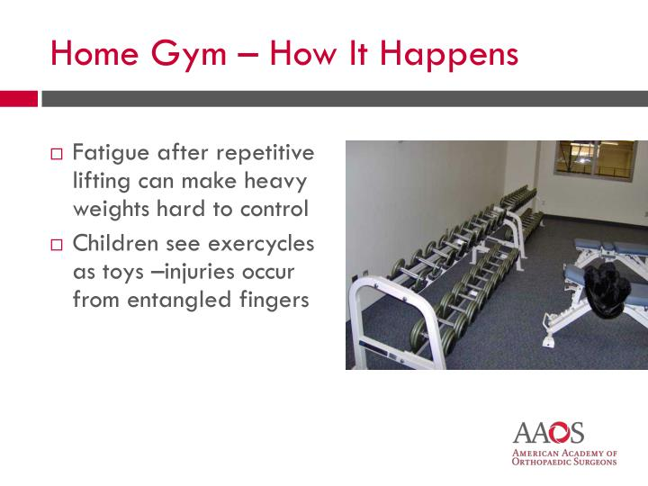 Fatigue after repetitive lifting can make heavy weights hard to control