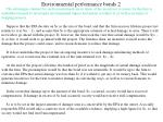 environmental performance bonds 2