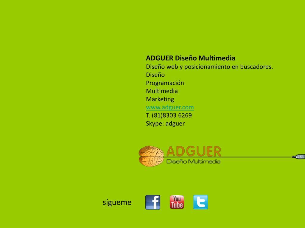 ADGUER Diseño Multimedia
