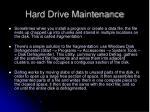 hard drive maintenance2