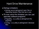 hard drive maintenance3
