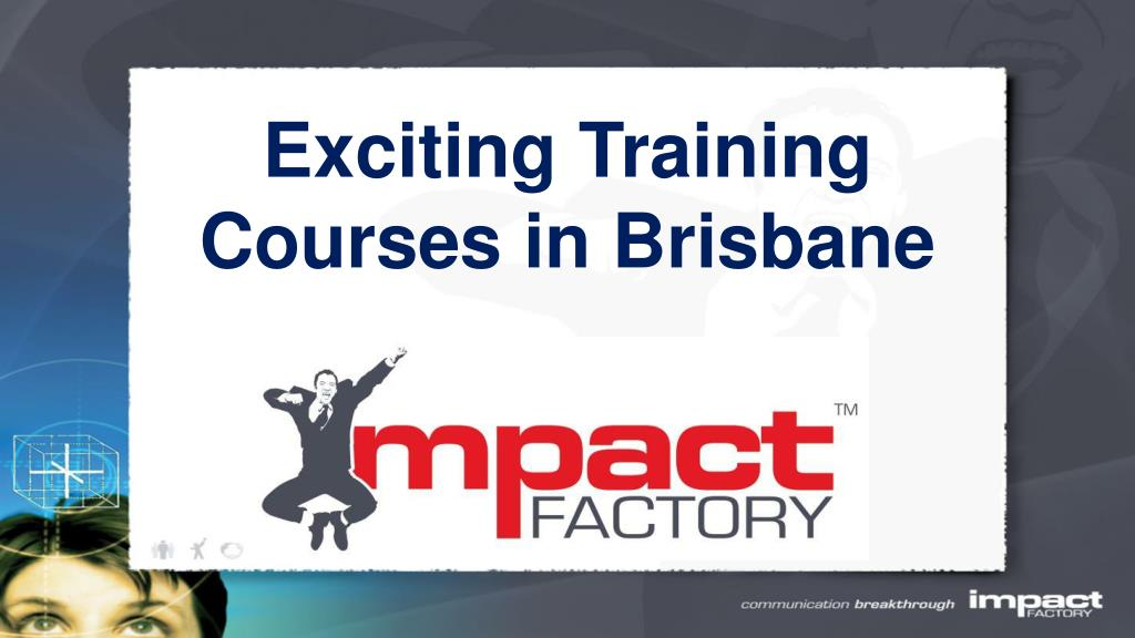 exciting training courses in brisbane l.