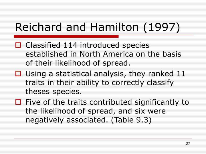 Reichard and Hamilton (1997)