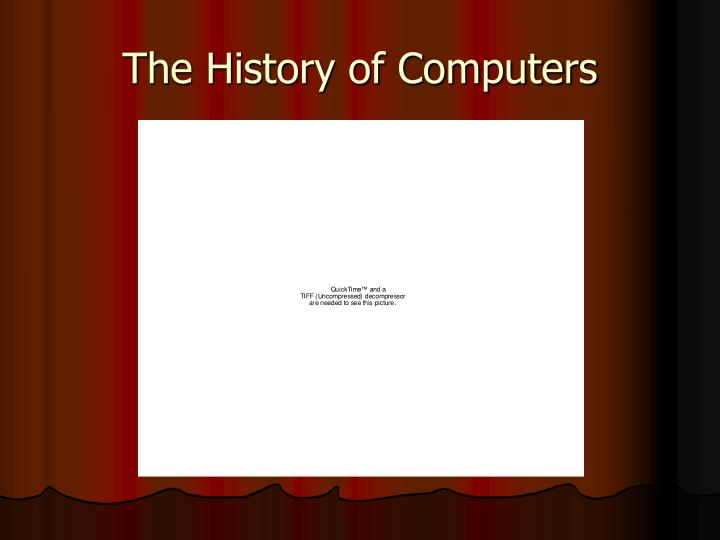the history of computers n.