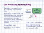 gas processing system gps