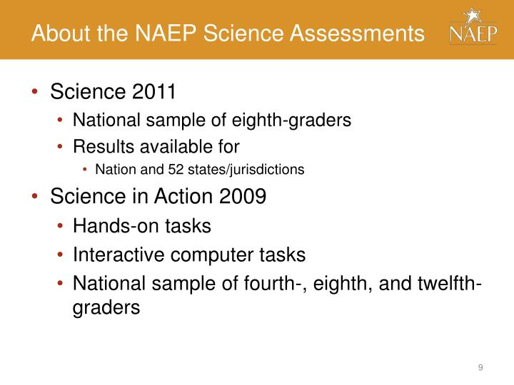 About the NAEP Science Assessments