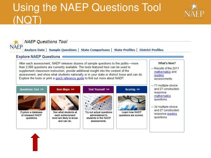 Using the NAEP Questions Tool (NQT)
