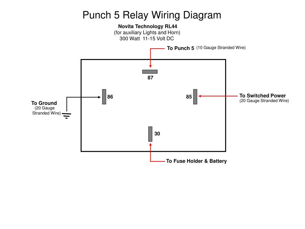 Rl44 Relay Wiring Diagram