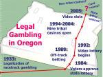 legal gambling in oregon
