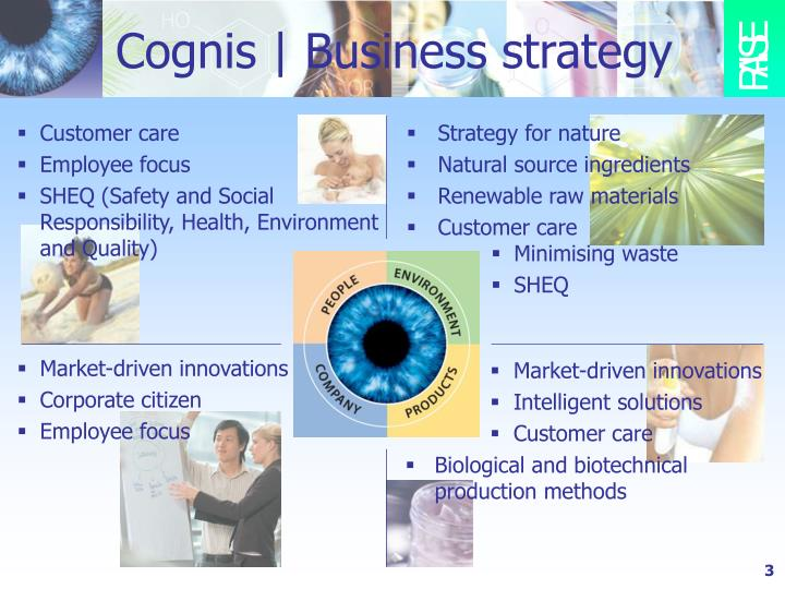 Cognis business strategy