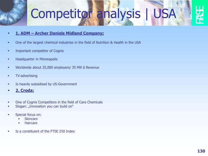 Competitor analysis   USA