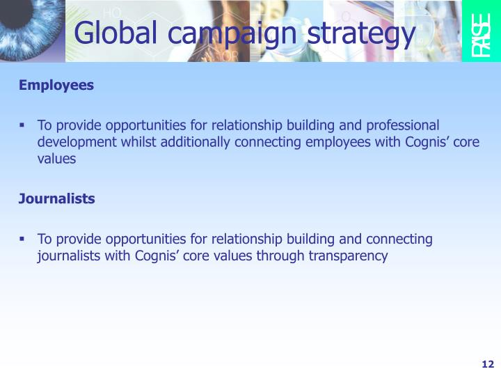 Global campaign strategy