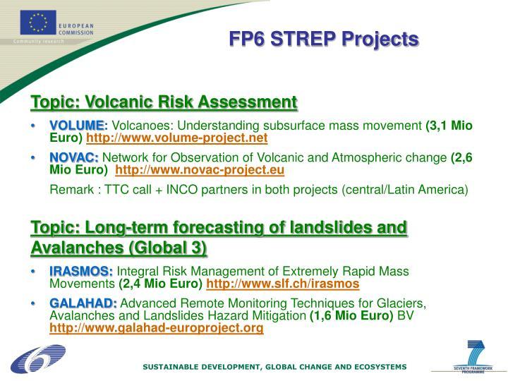 Topic: Volcanic Risk Assessment