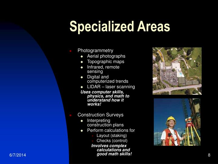 Specialized Areas