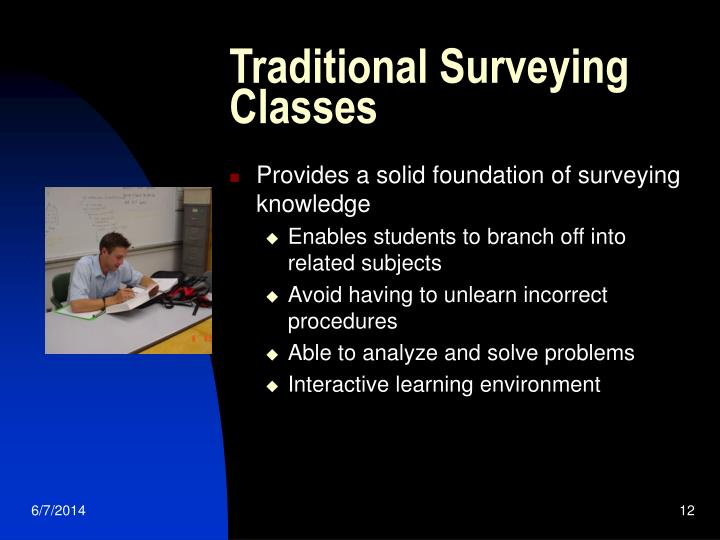 Traditional Surveying Classes
