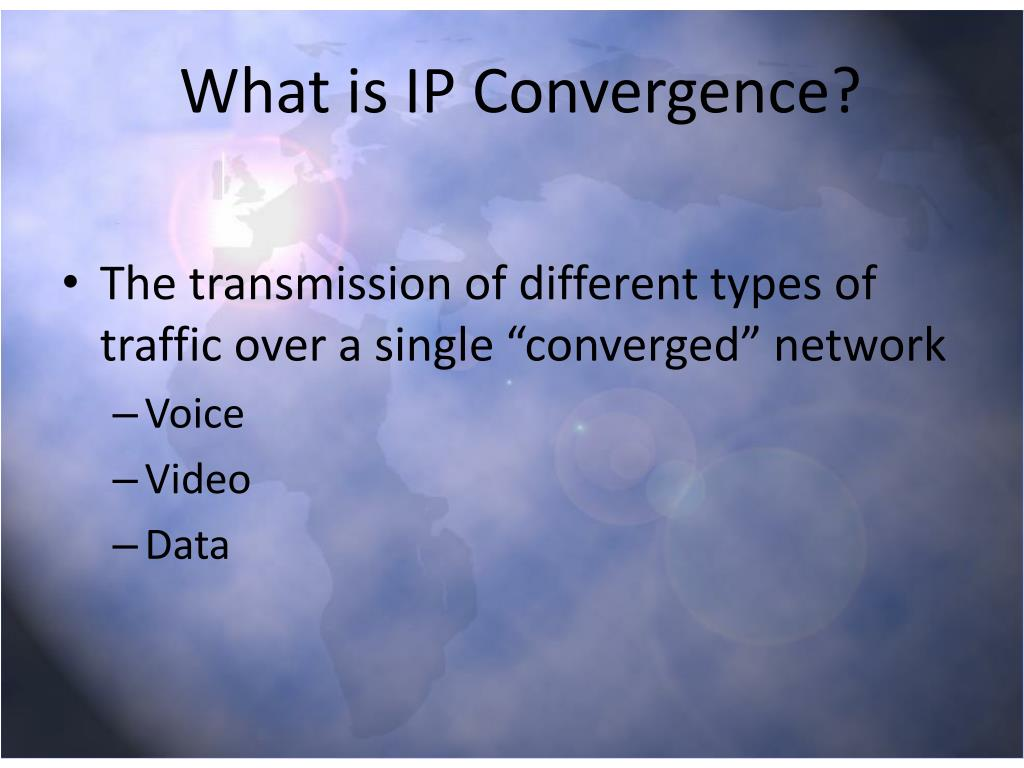 What is IP Convergence?