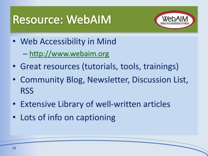 ppt captioning video for accessibility powerpoint