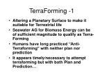 terraforming 1