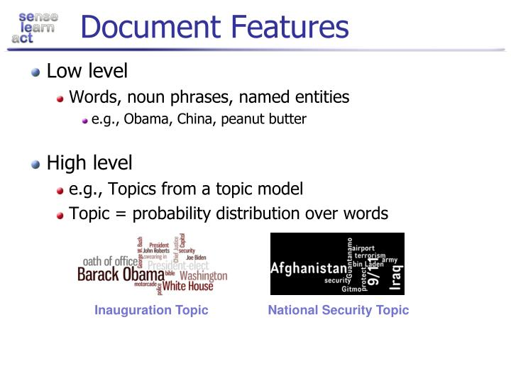 Document Features