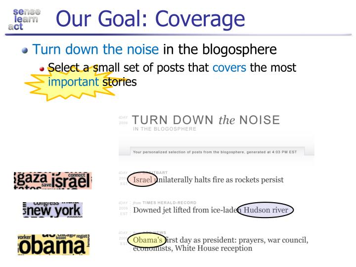 Our Goal: Coverage