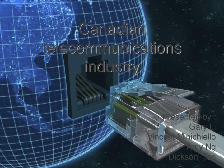 canadian telecommunications industry n.