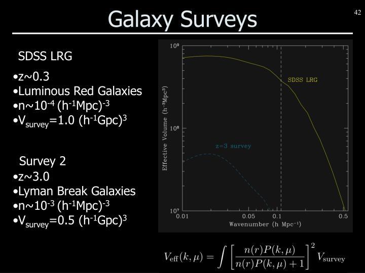 Galaxy Surveys