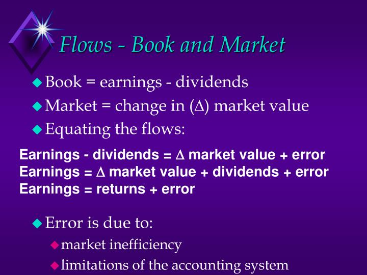Flows - Book and Market