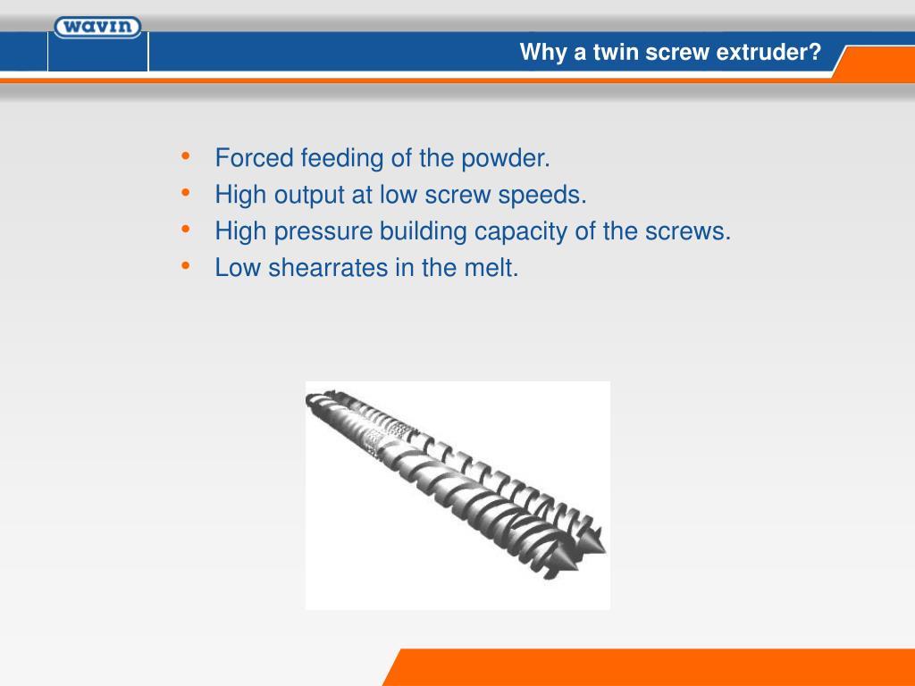 PPT - Twin screw extruder PowerPoint Presentation - ID:1358250