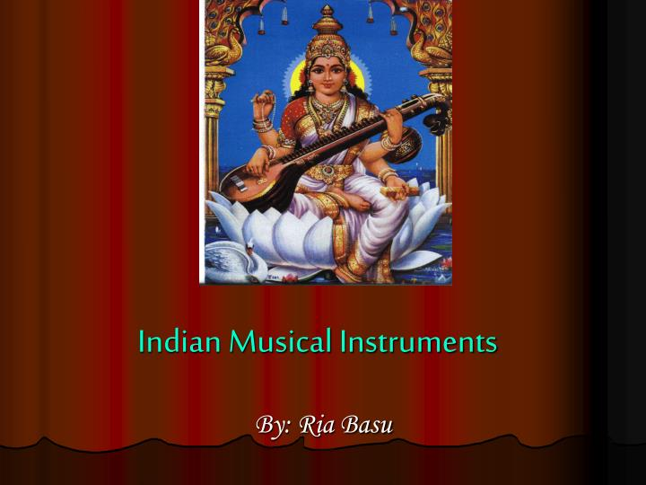 indian musical instruments n.