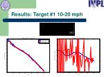 results target 1 10 20 mph