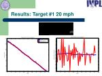 results target 1 20 mph