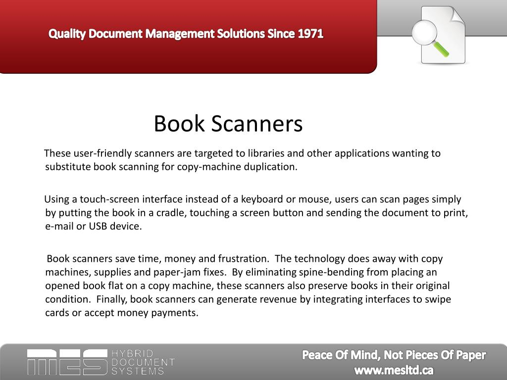 Book Scanners