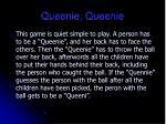 queenie queenie