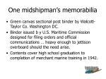 one midshipman s memorabilia